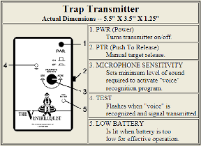 Radio Transmitter Trap