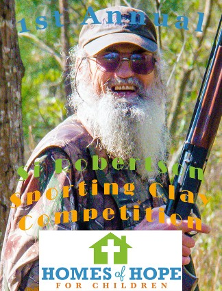 Si Robertson Sporting Clay Competition